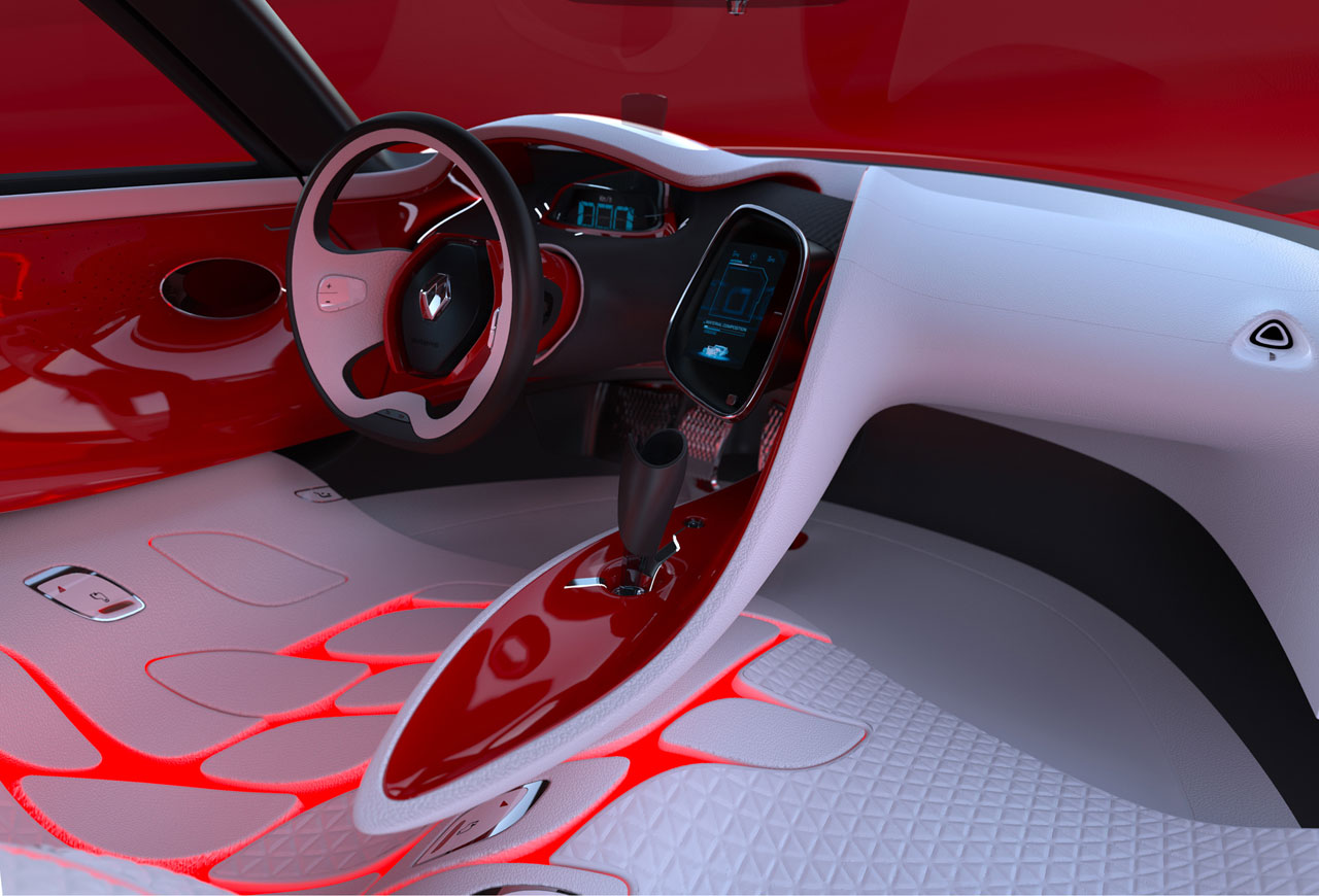 Renault DeZir Concept Interior - Car Body Design