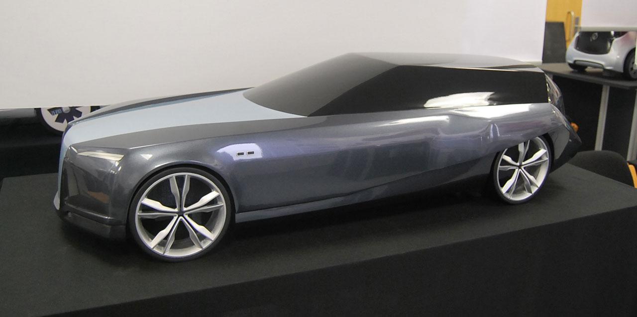 Wally Concept Car Scale Model - Car Body Design