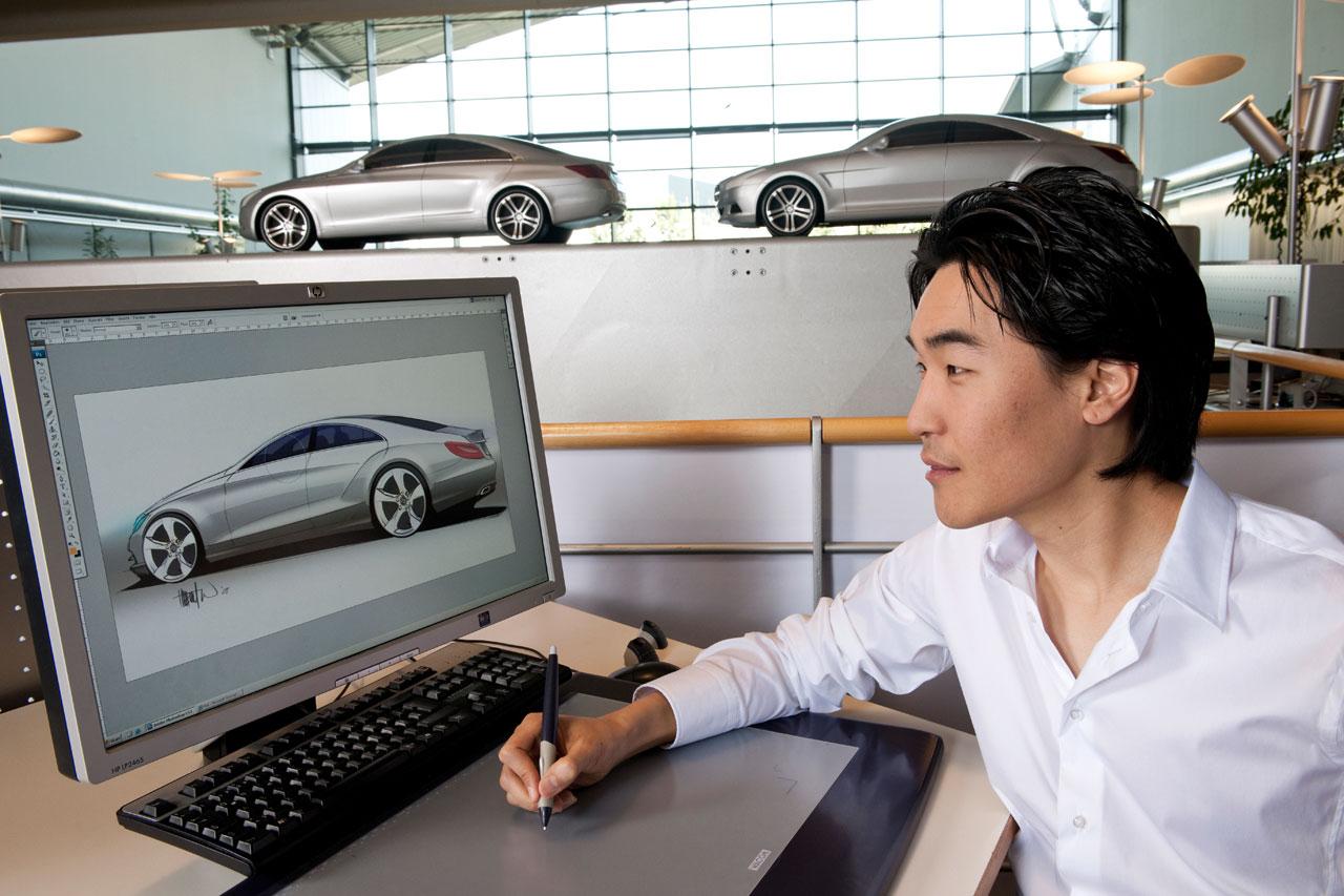 Hubert Lee designs the new Mercedes-Benz CLS - Car Body Design