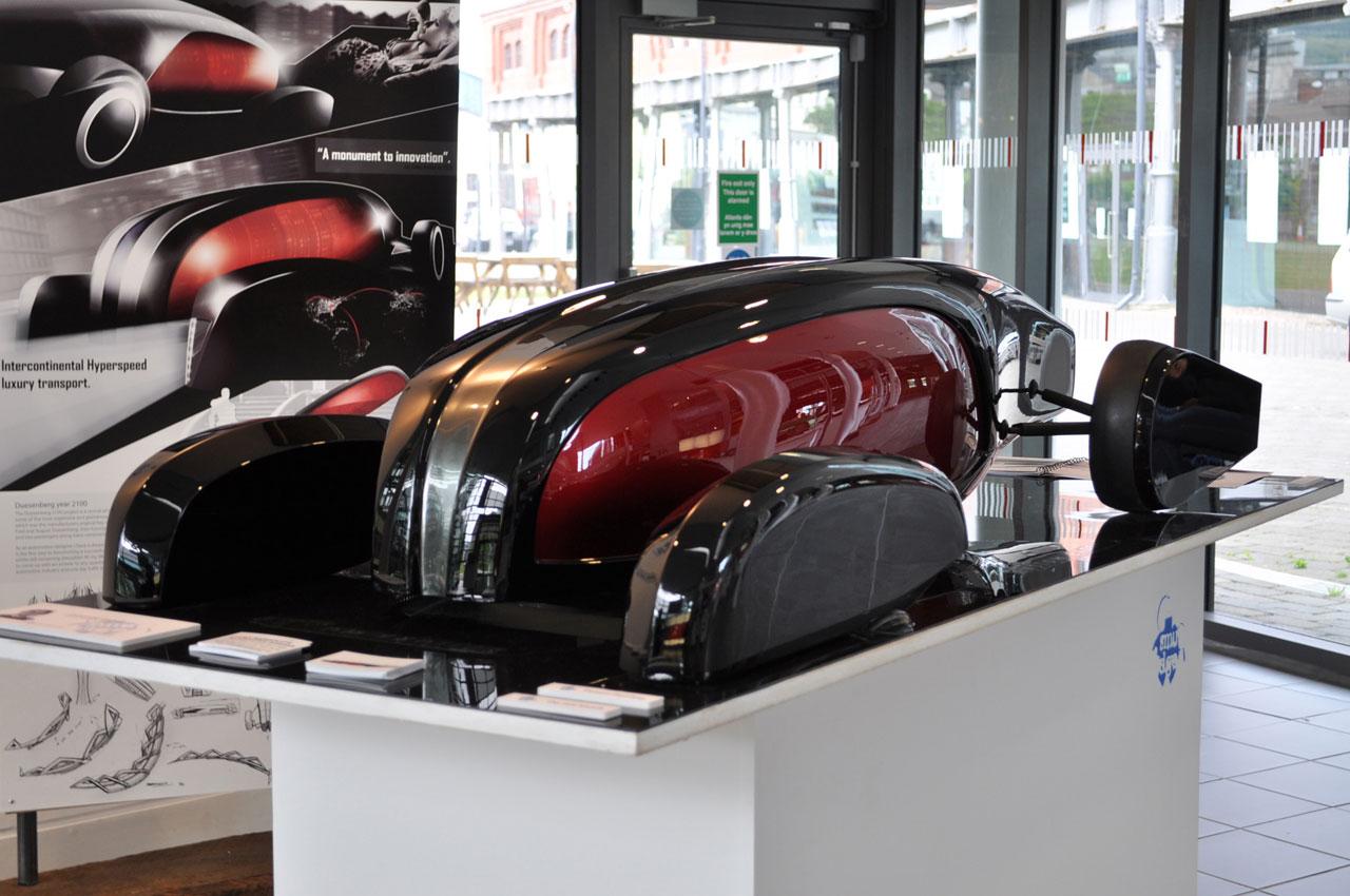 Duesenberg 2100 Concept Model Car Body Design