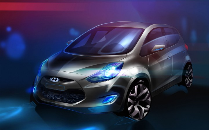 Hyundai ix20 Concept preview
