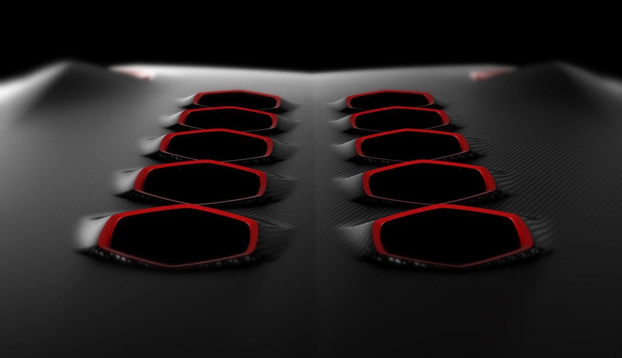 Lamborghini Sesto Elemento Concept Car Body Design