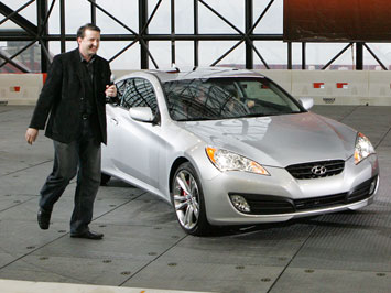 Joel Piaskowski and The Hyundai Genesis Coupe