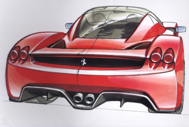 Ferrari Enzo Car Body Design