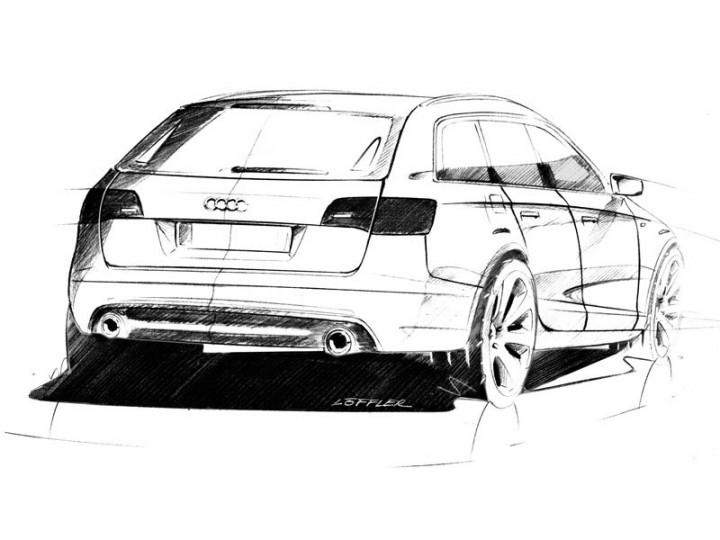 Ausmalbilder Autos Audi A6