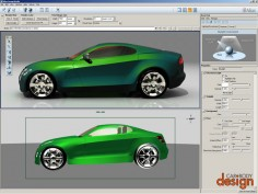 Digital Technologies in Car Design: Digital drawings and 3D renderings