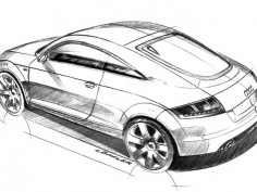Audi TT preview sketches