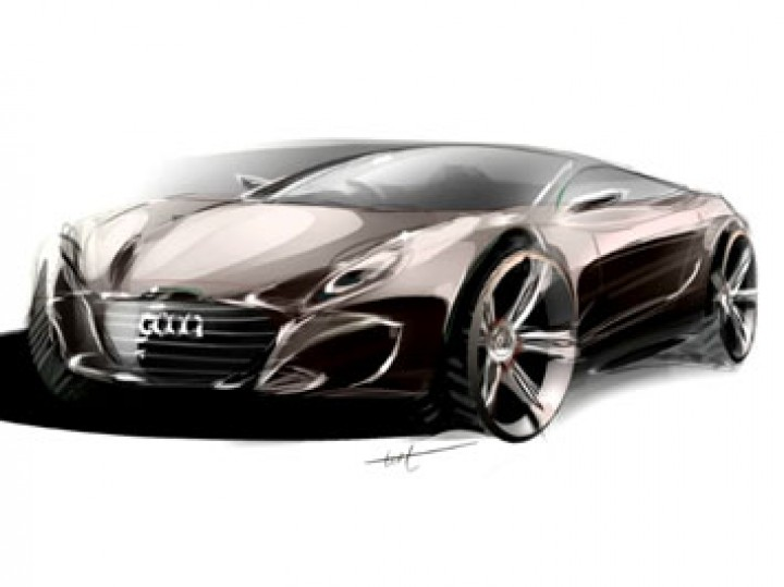 Audi C7 Photoshop Rendering