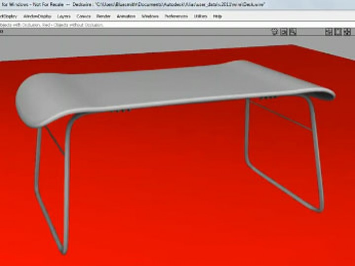 Ambient Occlusion in Autodesk Alias 2011 Essentials