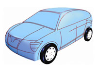 Supporting Early Styling Design of Automobiles Using Sketch-based 3D Shape Construction