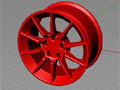Sportscar wheel tutorial