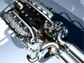 V8 biturbo engine