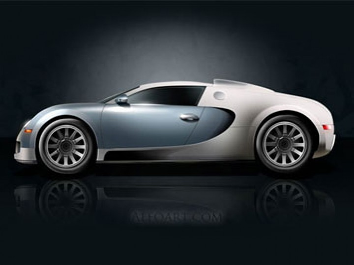 Bugatti Veyron illustration tutorial