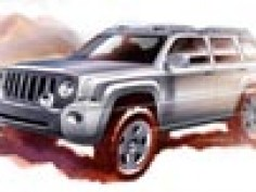 Jeep Patriot and Compass Rallye Concepts: first sketches