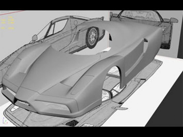 Making Of Ferrari Enzo Car Body Design