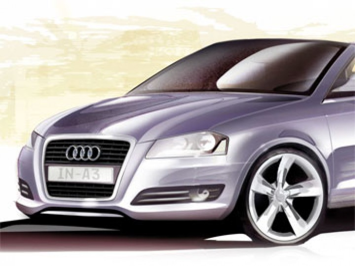 Audi A3 modeling tutorial