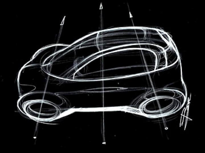 Top View Car Sketching Tutorial