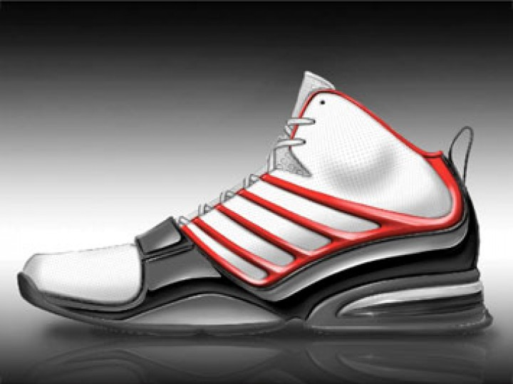 Rendering a Basketball Shoe in SketchBook Pro