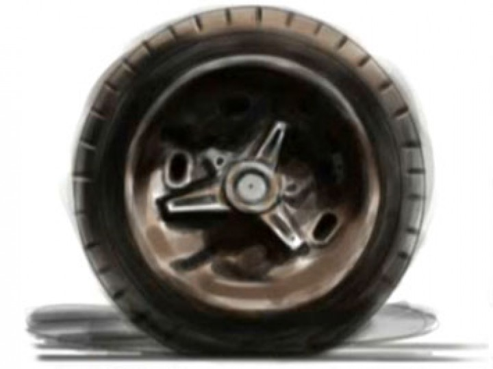 How to Draw Wheels and Tires Part 2