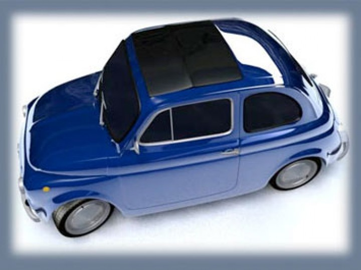 Modelling a Fiat 500 using Polymodelling