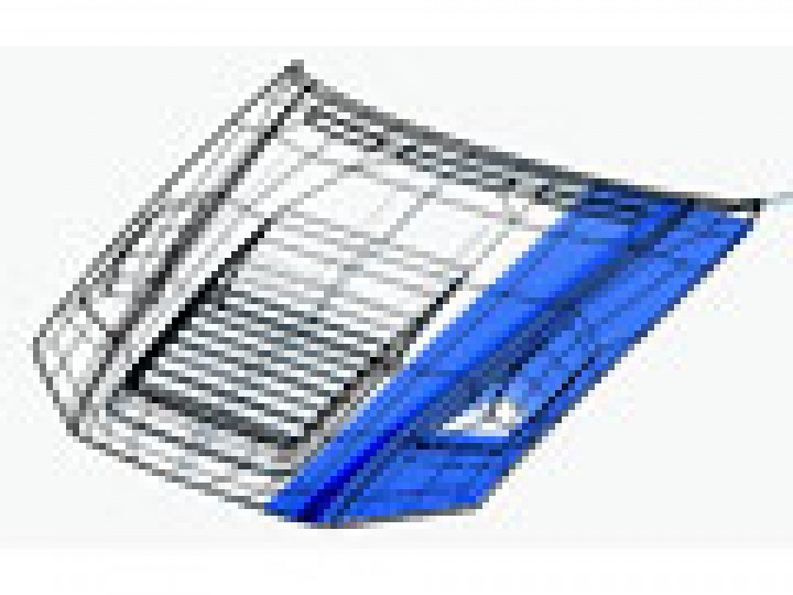 Modelling a car hood using NURMS