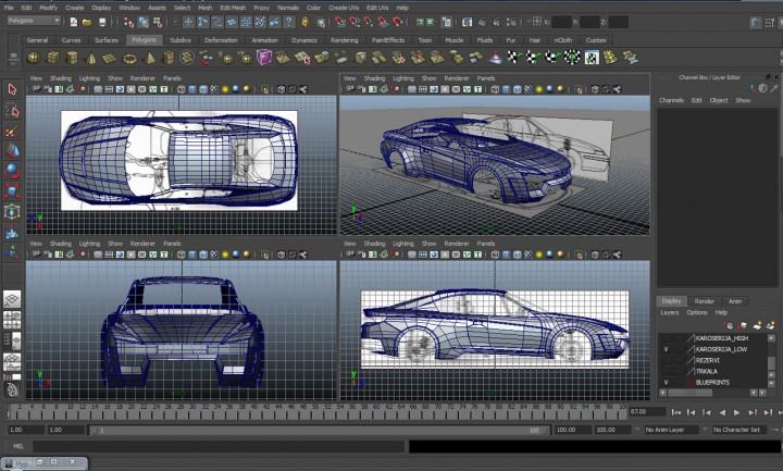 New Level Mako Kit Car Body Design
