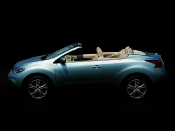 Nissan Murano CrossCabriolet preview