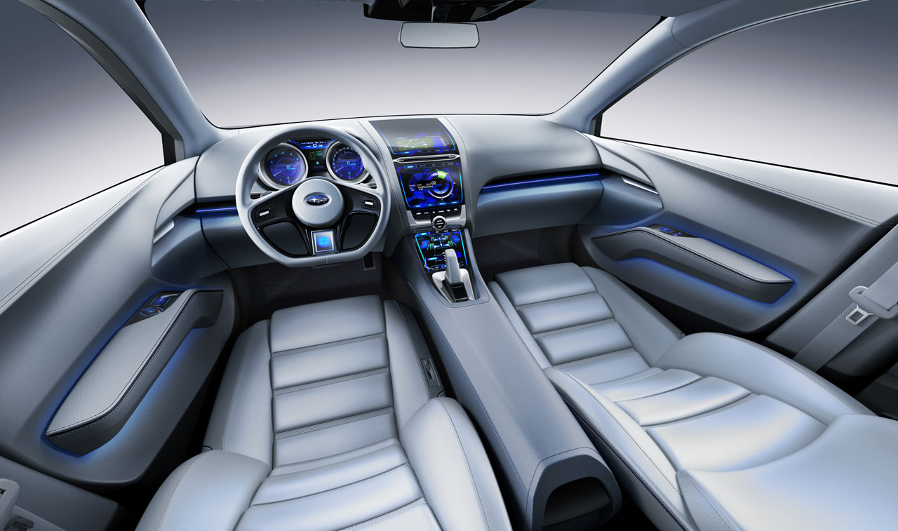 Subaru Impreza Design Concept Interior Car Body Design