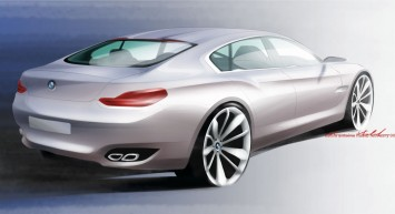 BMW CS Concept design sketch
