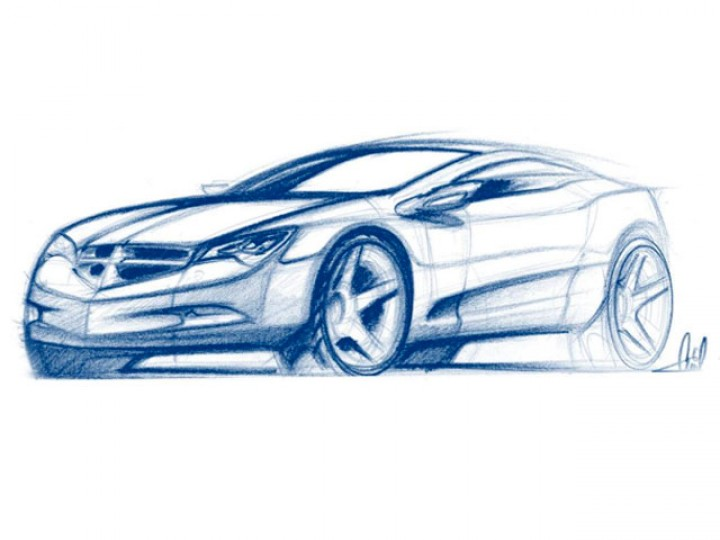 How to Draw Cars – Value Sketching 1 - Car Body Design