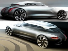 Citroën DS24 Concept: new design images