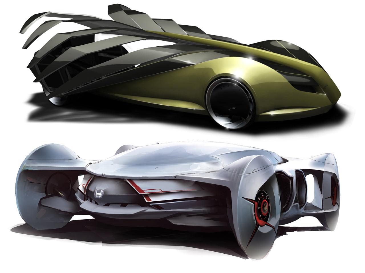 Futuristic Concept Cars - Car Body Design