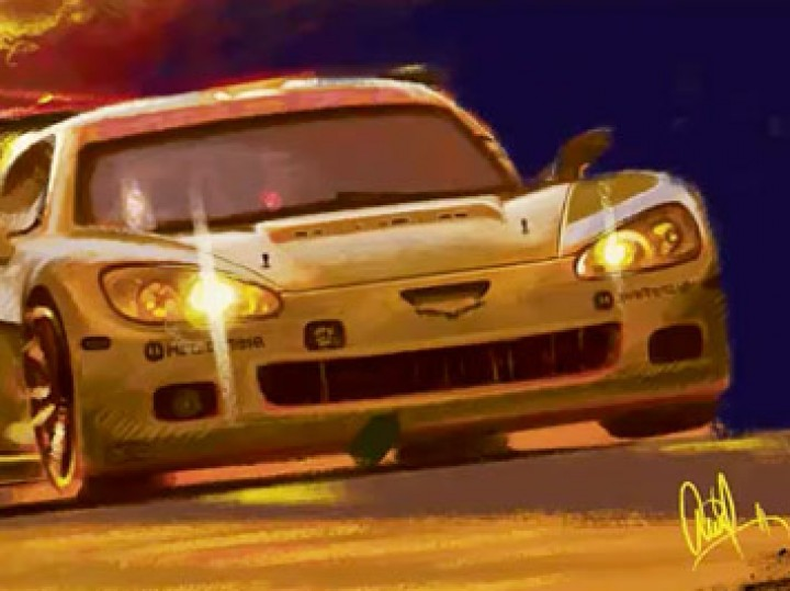 How to Draw Cars: Dynamic Digital Painting Compositions