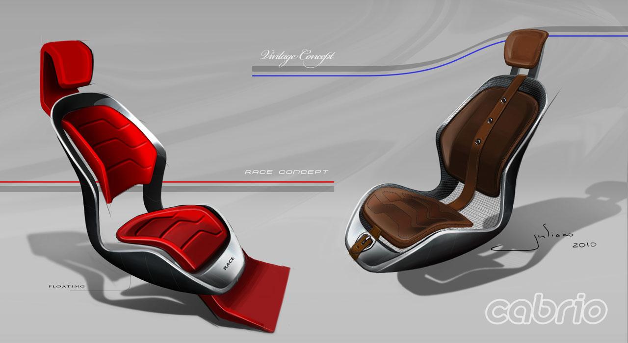 Seat Design Car Body Design