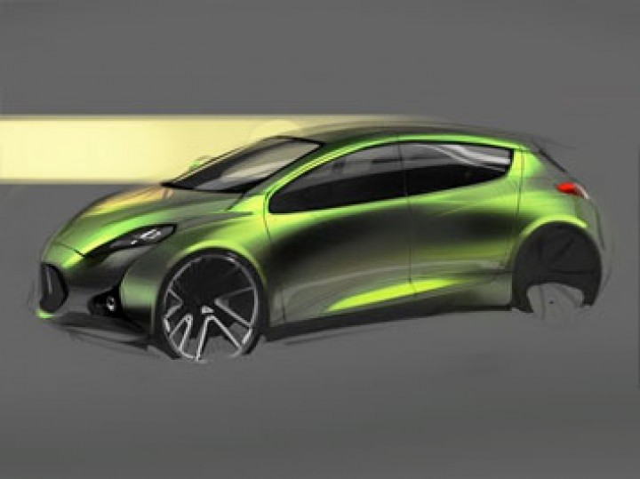 Photoshop CS5 Car Sketching tutorial