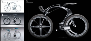 Peugeot B1K Design Process Stages