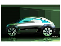 Renault ZOE Concept: design sketches
