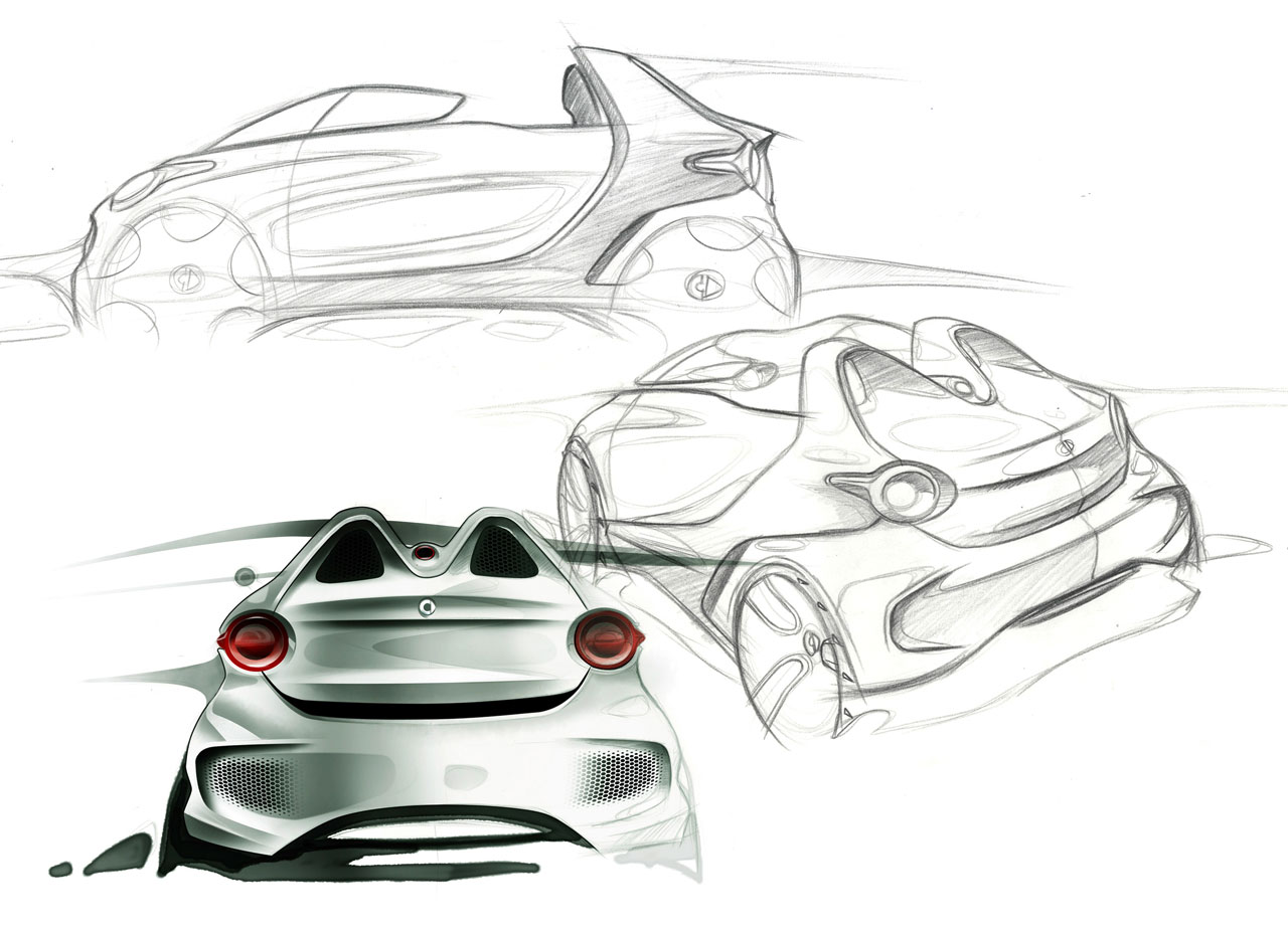 Smart Forspeed Concept Design Sketches