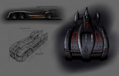 Batmobile by Peter Cansfield