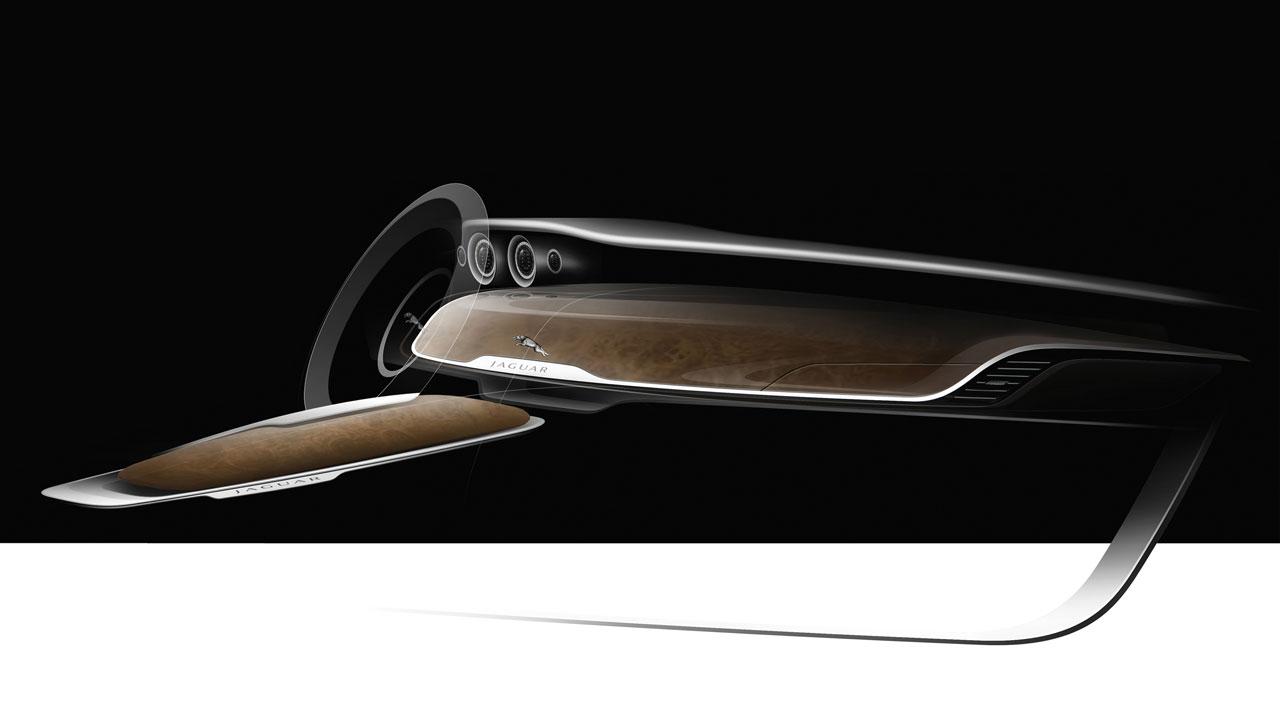 Bertone Jaguar B99 Concept Design Interior Design Sketch Car Body