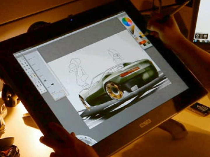 Car Speedpainting in SketchBook Pro