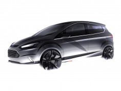 Ford B-MAX Concept: design images