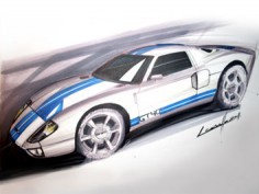 Ford GT40 sketch tutorial