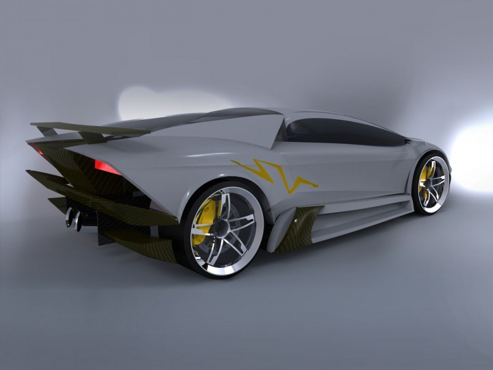 Lamborghini Murcielago Ng Concept Car Body Design