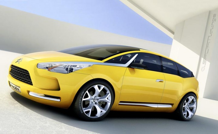Citroën DS5 - Car Body Design