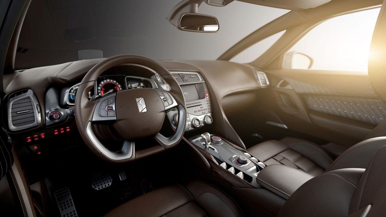 Citroen Ds5 Interior Car Body Design