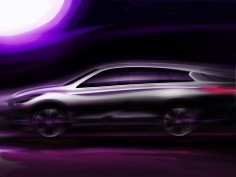 Infiniti JX Concept: preview sketch
