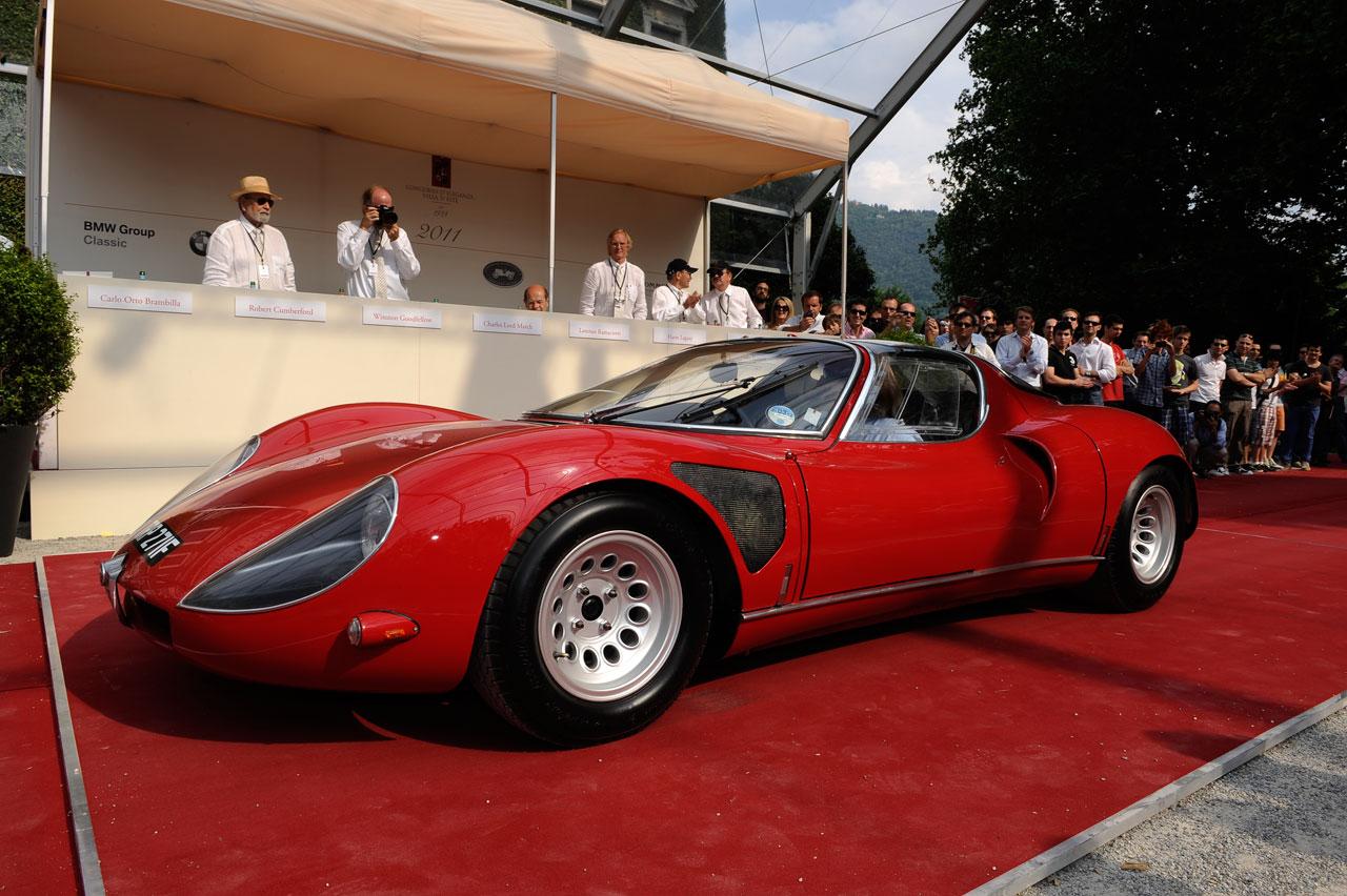 1968 Alfa Romeo 33 Stradale Car Body Design