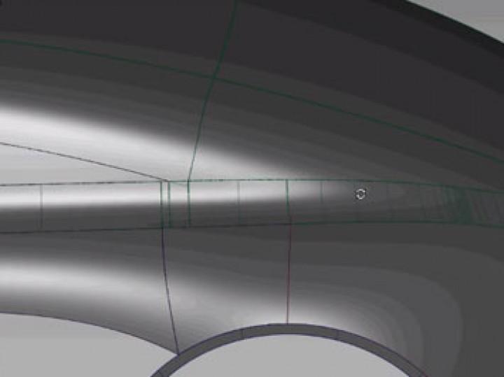 Alias Surface tutorial: Surface Fillet