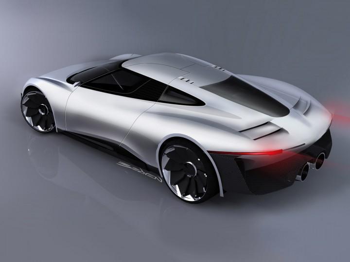Jaguar C X75 Concept Confirmed For Production Car Body Design